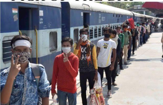 انڈین ریلوے کا دعویٰ:اب تک 52 لاکھ افراد گھر پہنچ گئے