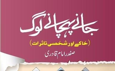 صفدری قلم کی تصویریں: 'جانے پہچانے لوگ'-سلمان عبدالصمد
