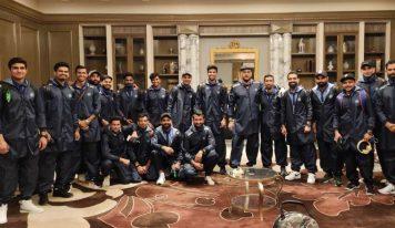 آسٹریلیا میں تاریخ رقم کرنے کے بعد وطن واپس ہوئی ٹیم انڈیا،اب انگلینڈ کو شکست دینے کی تیاری
