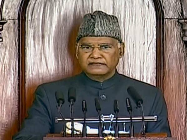 19اپوزیشن پارٹیوں نے صدرکے خطاب کابائیکاٹ کیا