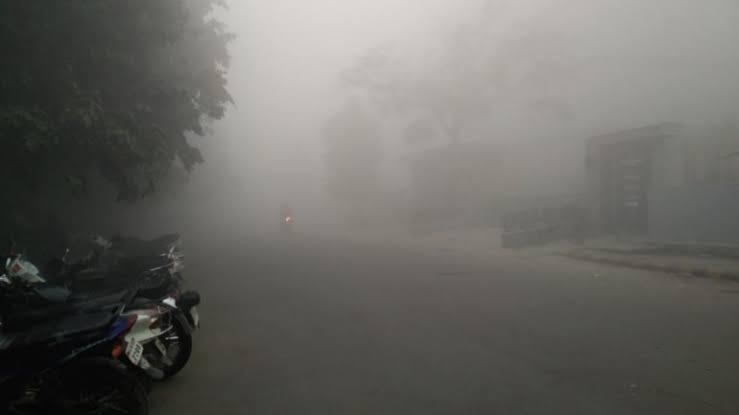 این سی آر میں فضائی آلودگی میں اضافہ