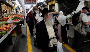 اسرائیل میں 24 گھنٹے میں کرونا کے ریکارڈ کیسز کا اندراج