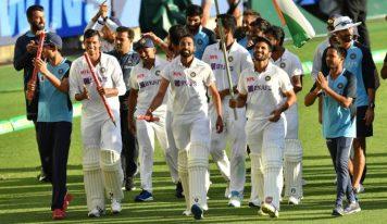 ہندوستانی ٹیم نے توڑا آسٹریلیائی ٹیم کا غرور،برسبین میں رقم کی تاریخ