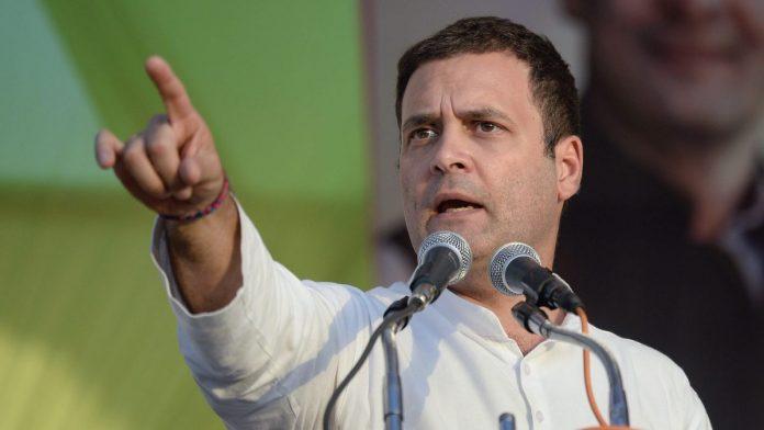 راجستھان:راہل گاندھی نئے تیو رمیں آئے نظر،زرعی قانون کےخلاف جم کر بولا