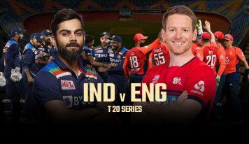 ہندوستان-انگلینڈ ٹی 20سیریز:پہلا میچ 12مارچ کو احمدآباد میں کھیلا جائے گا