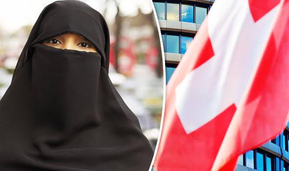 سوئٹزرلینڈ:اسلام مخالف برہنہ سوچ حاوی،برقعہ پر پابندی کااحمقانہ فیصلہ