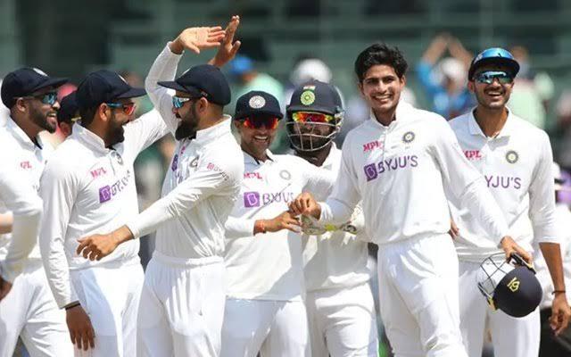 ہندوستان نے آخری ٹیسٹ میں انگلینڈ کو اننگز اور 25 رنز سے شکست دی ،ٹیسٹ چمپئن شپ کے فائنل میں جگہ پکی