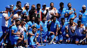 ہندوستانی ہاکی ٹیم اولمپکس میں 41برس بعد میڈل حاصل کرنے میں کامیاب